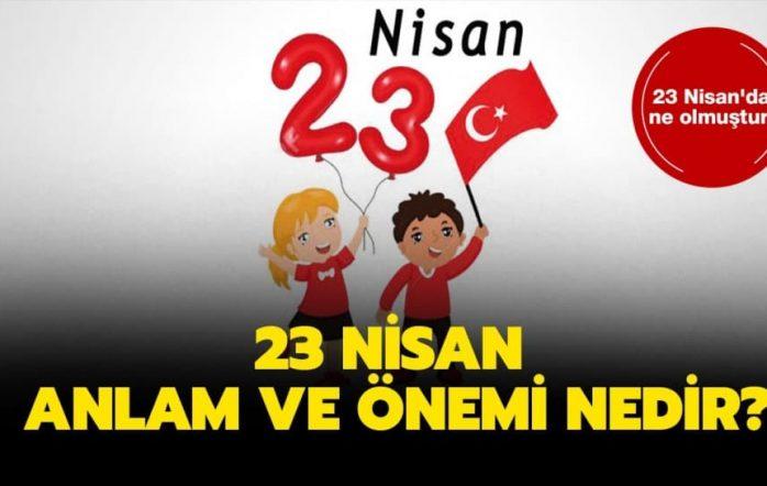 23 Nisan'da ne olmuştur? sorusunun yanıtı merak ediliyor. 23 Nisan 1920, Türk milletinin iradesini temsil eden Birinci Büyük Millet Meclisi'nin açıldığı ve Türk halkının egemenliğini ilân ettiği tarihtir. Her yıl coşku ile kutladığımız 23 Nisan'ı bu yıl evlerimizden aynı coşku içinde kutlayacağız. 23 Nisan hakkında merak edilenlerin tümünü sizler için derlerdik. İşte tüm detaylar.. 23 […]